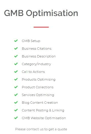 , Google My Business Ranking